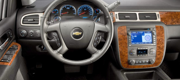 Chevrolet Silverado – Interior View