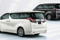 Alphard/Vellfire Rear View